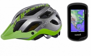 Casco y GPS